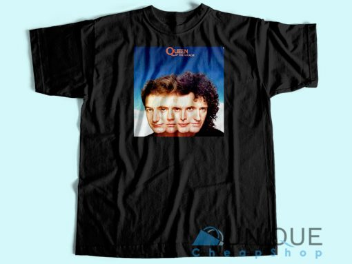 Queen The Miracle Album T-shirt Unisex Custom Tee Shirt Printing