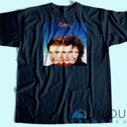 Queen The Miracle Album T-shirt Navy
