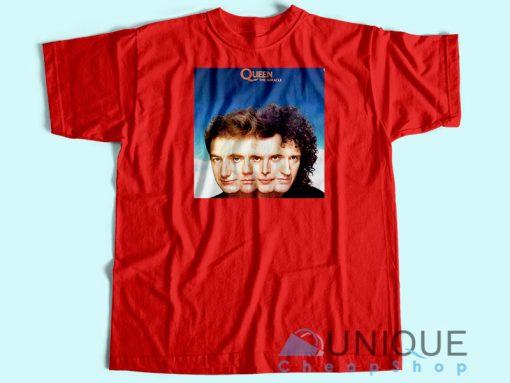 Queen The Miracle Album T-shirt Red