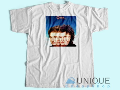 Queen The Miracle Album T-shirt White