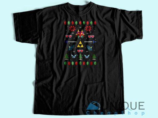 Zelda Christmas T-shirt