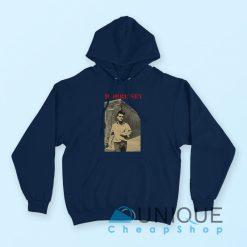 Morrissey The Smiths Hoodie Navy Color Hoodie
