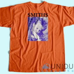The Smiths Vintage 80s T-shirt Orange