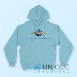 Universal Music Group Hoodie Blue Color Hoodie