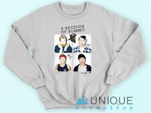 5 Second of Summer Logo Sweatshirt