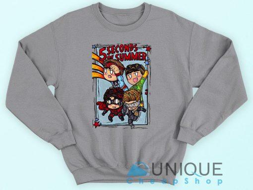 5 Second of Summer Sweatshirt