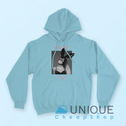 Ariana Grande Dangerous Woman Hoodie Light Blue