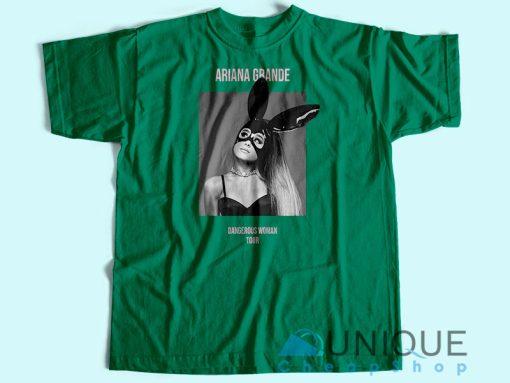 Dangerous Woman Tour T-Shirt Unisex Tee Shirt Printing