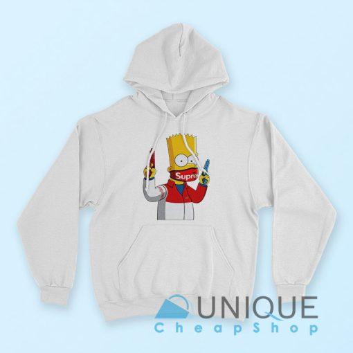 Gangsta Bart Simpson Supreme Hoodie