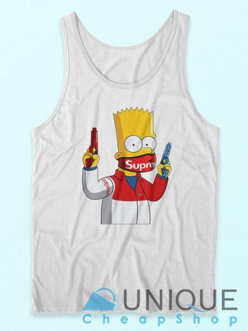 Bart Simpson Gang Supreme Tank Top