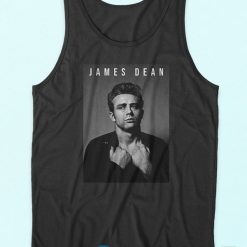 James Dean Tank Top Black