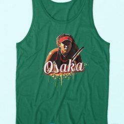 Naomi Osaka Tank Top Green