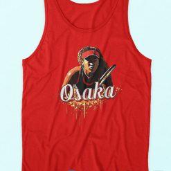 Naomi Osaka Tank Top Red