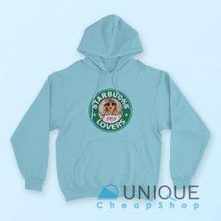 Taylor Swift For Starbucks Lovers Hoodie Light Blue
