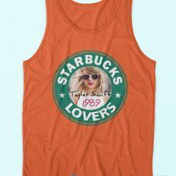 Starbucks Lovers Taylor Swift Tank Top Orange