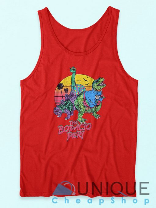 The Bodacious Tank Top Red