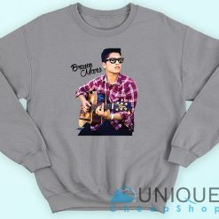 Bruno Mars Playing Guitar Sweatshirt