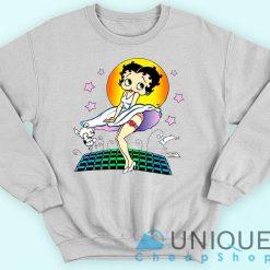 Vintage Betty Boop Marilyn Monroe Sweatshirt