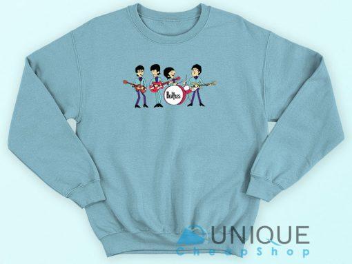 The Beatles Cartoon Rock Band Sweatshirt