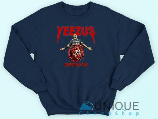 Yeezus Kanye West Sweatshirt