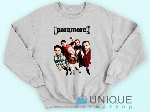 Paramore Poster Band Sweatshirt
