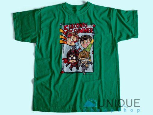 5SOS The Avengers T-Shirt