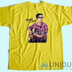 Bruno Mars Playing Guitar T-Shirt