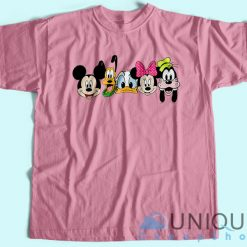 Disney Mickey And Friends T-Shirt Pink