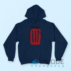 Paramore Logo Hoodie Navy