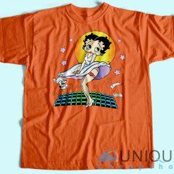 Betty Boop Vintage T-Shirt Orange