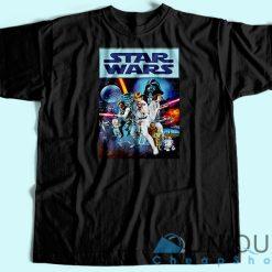 Star Wars 40th Anniversary T-Shirt black