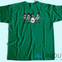 Vintage Beatles T-Shirt Green