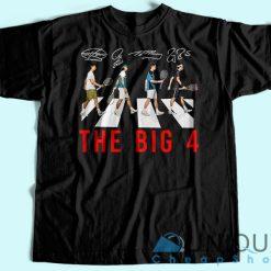The Big 4 Four Famous T-Shirt