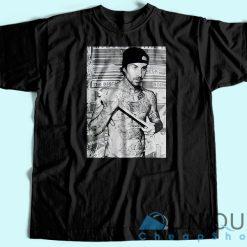 Travis Barker Poster T-Shirt.