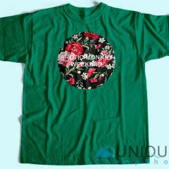 Arctic Monkeys Flowers Logo T-Shirt