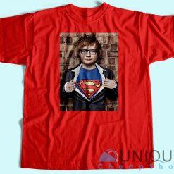 Ed Sheeran Superman T-Shirt