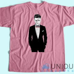 Justin Timberlake Suit And Tie Flag American T-Shirt