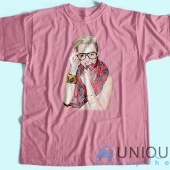 Sexy Miley Cyrus T-Shirt Pinkl