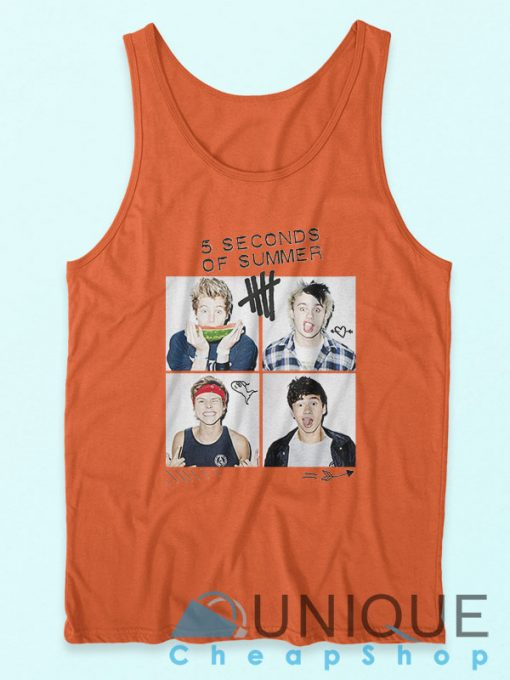 5 Second Of Summer Tank Top