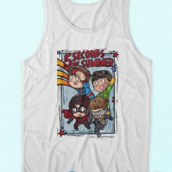 5 Second Of Summer Avengers Tank Top, 5 Second Of Summer tank top