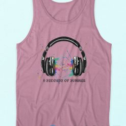 5 Second Of Summer Headphones Tank Top