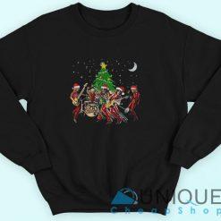 Merry Christmas Aerosmith Sweatshirt