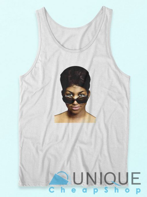 Aretha Franklin The Queen of Soul Tank Top