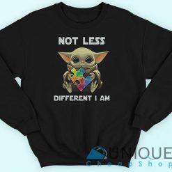 Baby Yoda Autism Awareness Sweatshirt