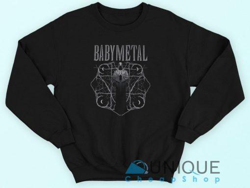 Babymetal Cloaked Figure Sweatshirt