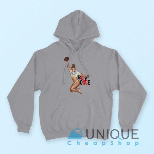 Beyonce Sports a Sexy Hoodie