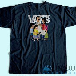 Top Bob's Burgers Vans T-Shirt Navy