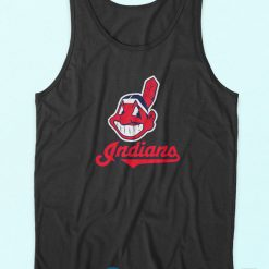 Cleveland Indians Logo Tank Top