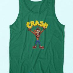 It's About Time Crash Bandicoot Tank Top