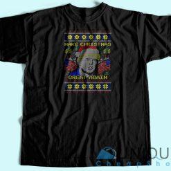 Donald Trump Ugly Christmas T-Shirt